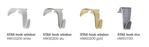 STAS windsor and riva hooks