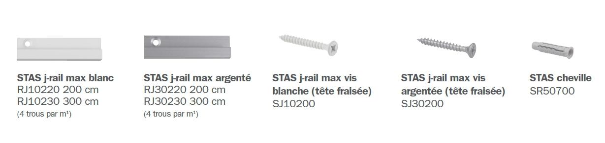 STAS j-rail amx éléments