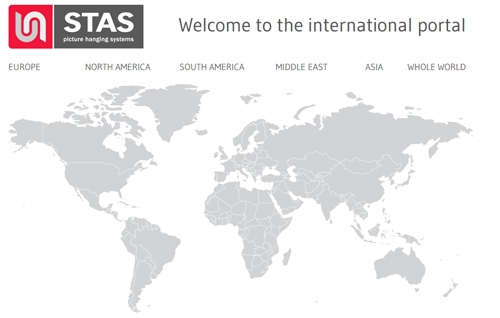 STAS international sales outlets