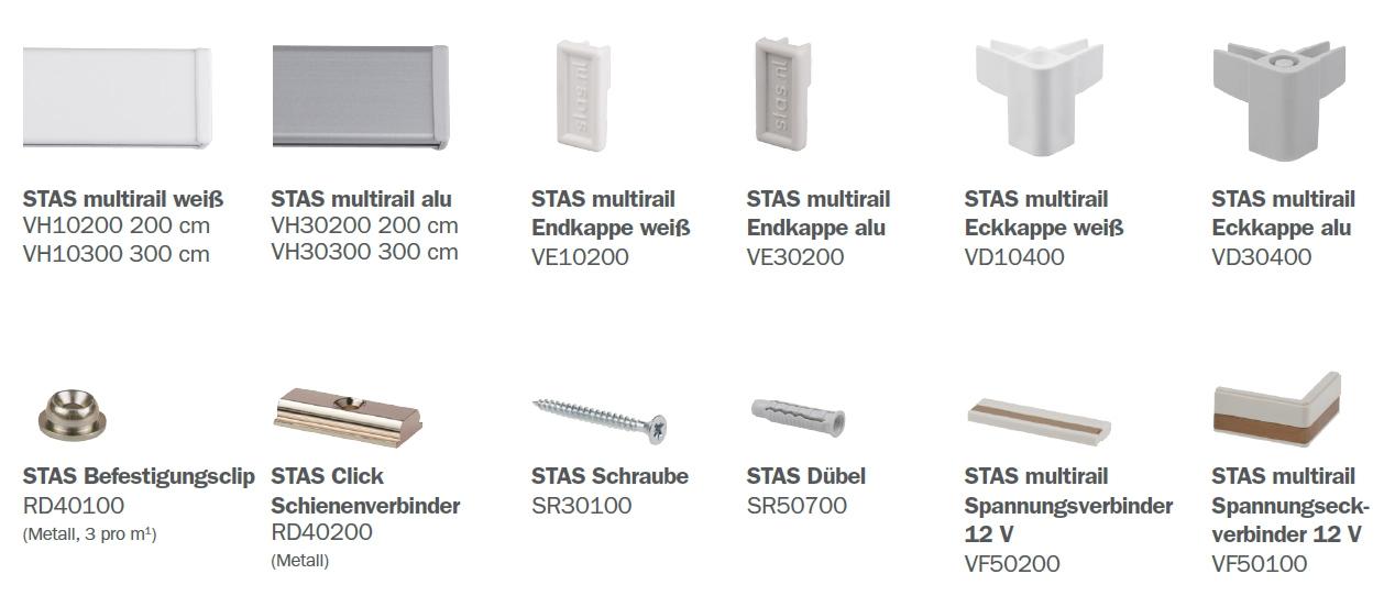 STAS Multirail Teile