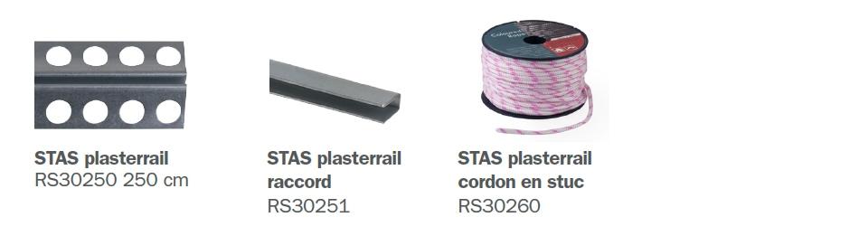 STAS plasterrail éléments