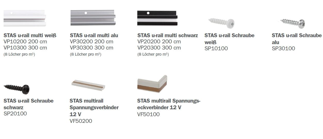 STAS U-Rail Multi Teile