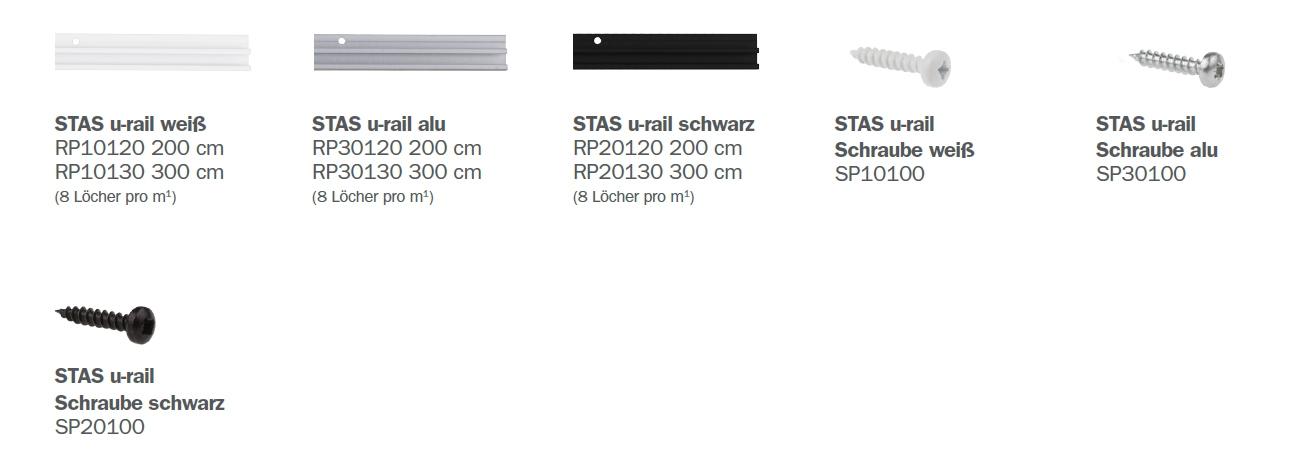 STAS U-Rail Teile